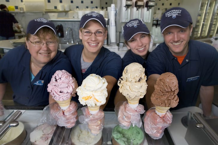young and the invested berkey creamery