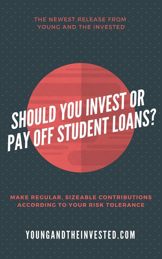 should you invest or pay off student loans