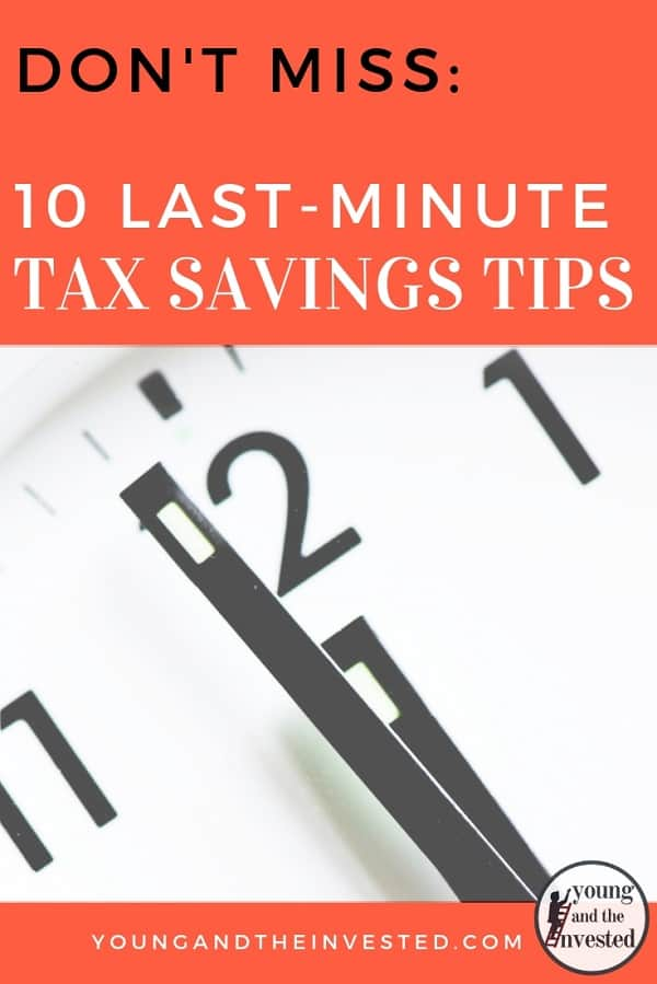 Dont Miss These 10 Last Minute Tax Savings Tips