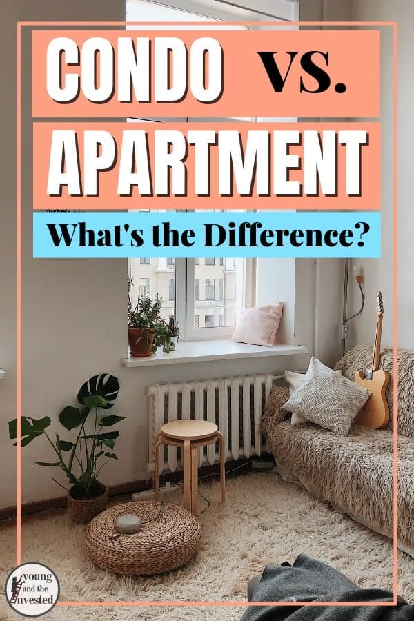 condo vs. apartment, what's the difference