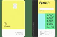 """Petal 2 """"Cash Back, No Fees"""" Visa Credit Card"""