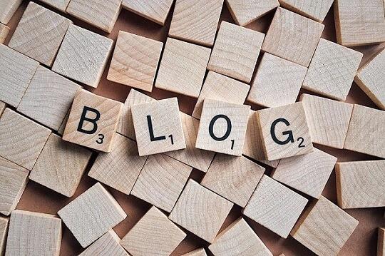 blog scrabble pieces