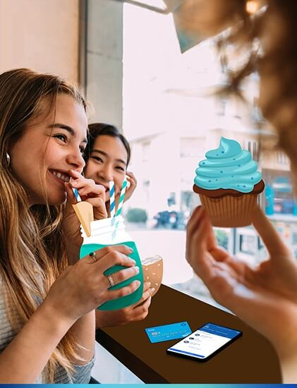 chase first banking cupcake