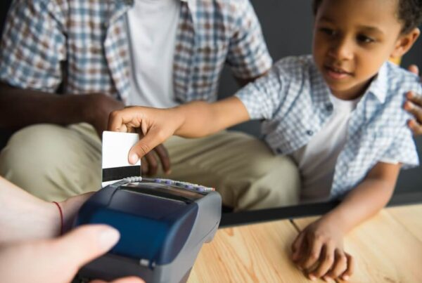 child bank account with debit card