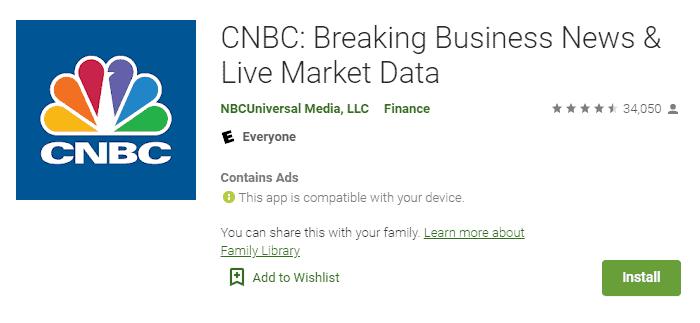 cnbc breaking business news app