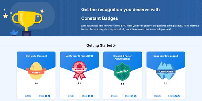 constant badges