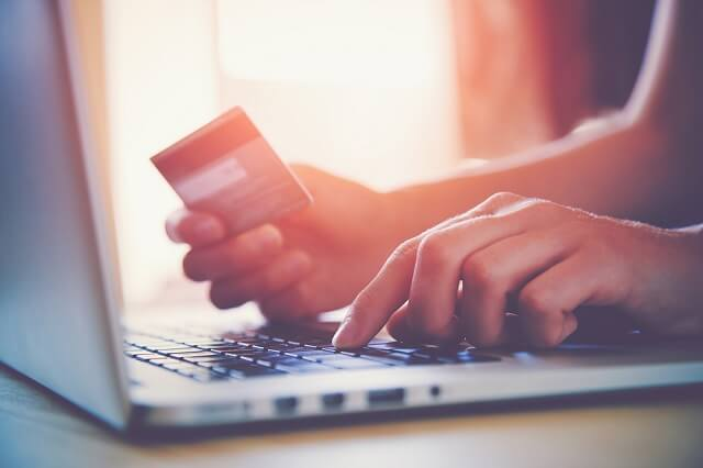 credit card purchases online