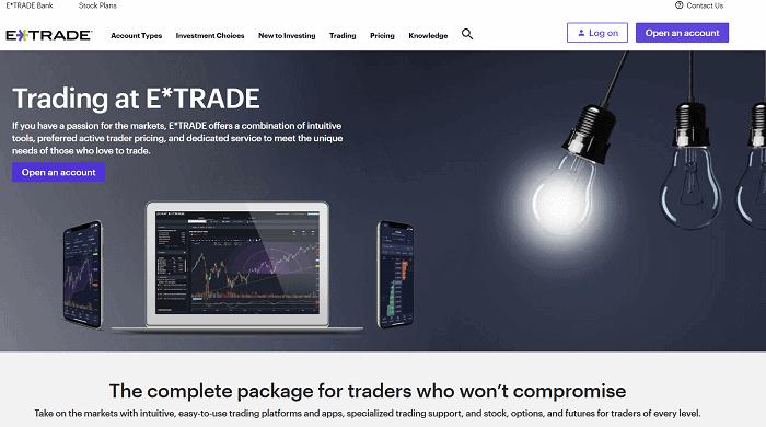 e-trade sign up