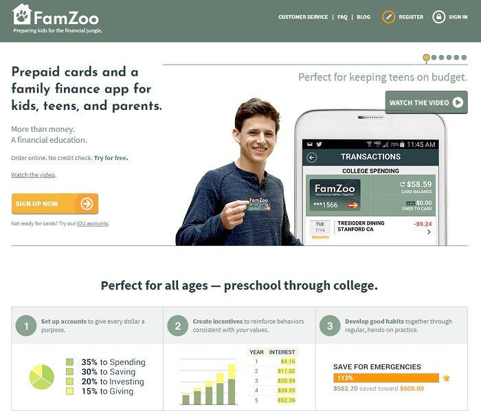 famzoo sign up