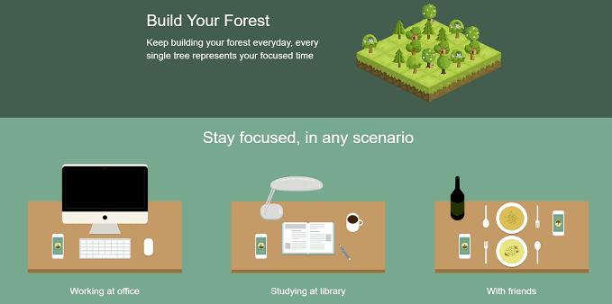 forest app sign up