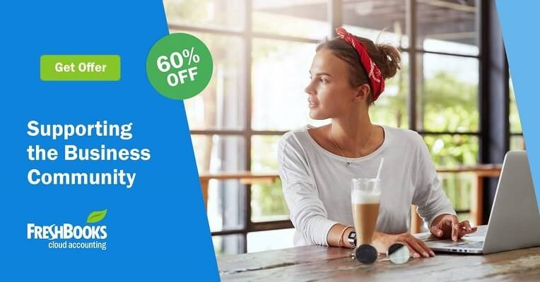freshbooks 60% off discount