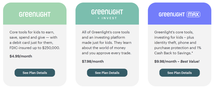 greenlight plans