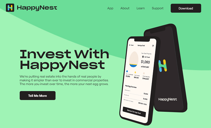 happynest sign up