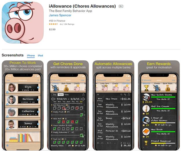 iallowance app store