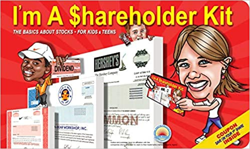 im a shareholder kit the basics about stocks for kids and teens