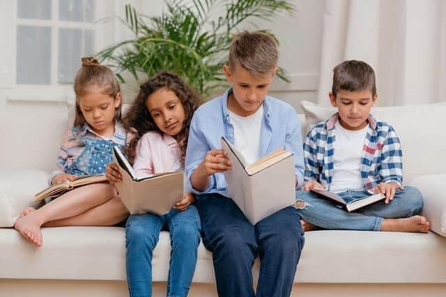 kids reading books medium