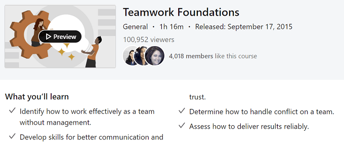 soft skills teamwork