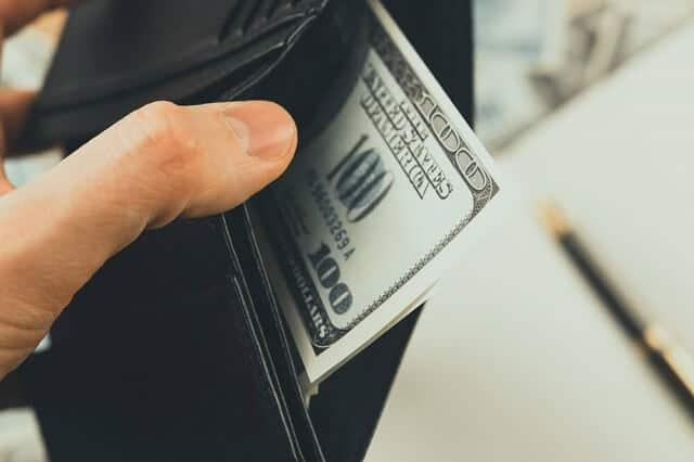 money in wallet medium