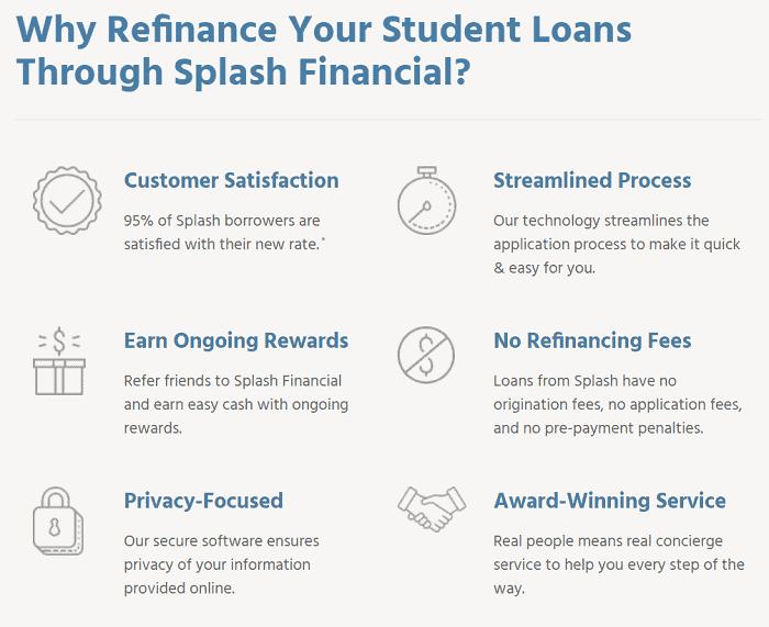 splash financial why refinance