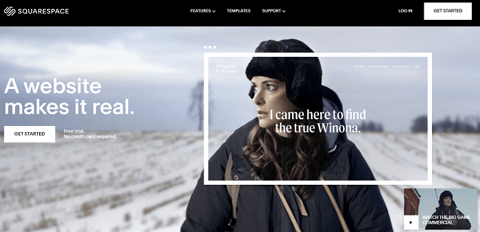 squarespace sign up