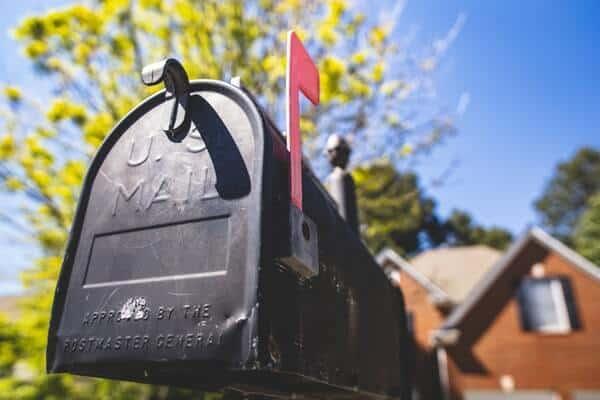 stimulus checks mail
