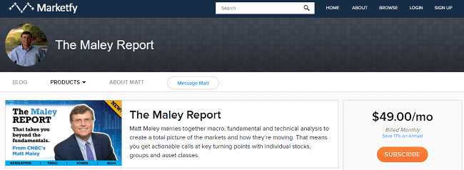 the maley report