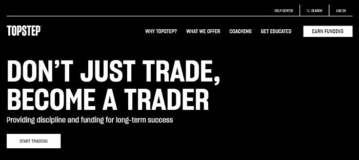 topstep trader sign up