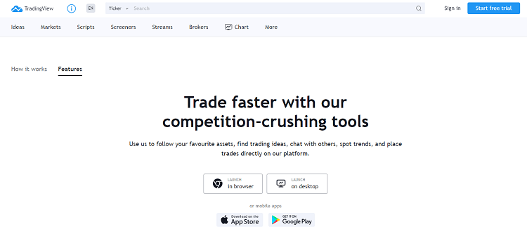 tradingview sign up