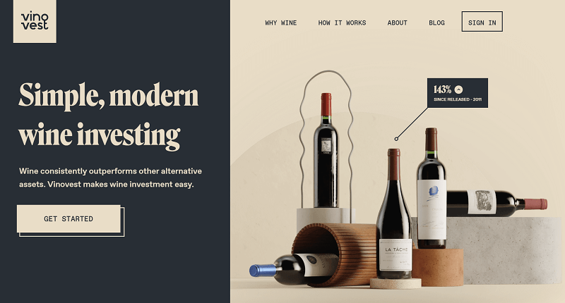 Vinovest: Review How to Invest in a Cellar's Market