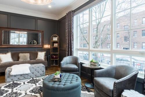 earn a high income luxury house
